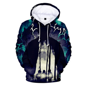 3D Print Stranger Things Pullover Hoodie Hooded Sweatshirt Costume-Fandomsky