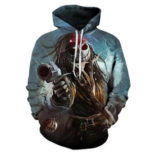 Pirates of the Caribbean Jack Hoodie Sweather Coat