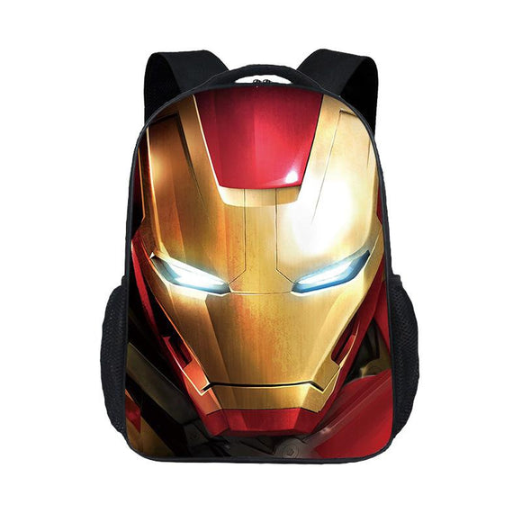 Iron Man Backpack for Kids Schoolbags 20L-Fandomsky