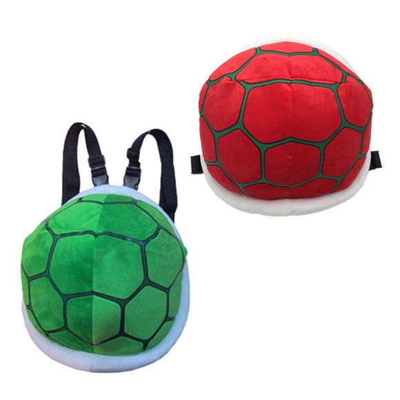 Super Mario Cartoon Fluffy Turtle Backpack for kids