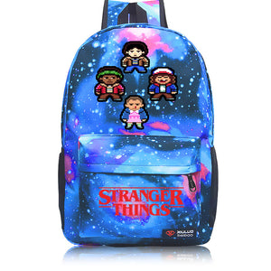 3D Print Stranger Things Logo Backpack School Bag-Fandomsky