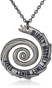 "Doctor Who 22"" Wibbly Wobbly Timey Wimey Pendant Necklace-Fandomsky"