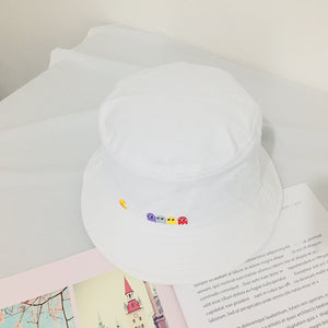 Pac Man All Over Print Bucket Hat-Fandomsky