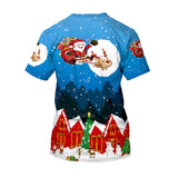 Unisex 3D Creative Print T-Shirt Christmas Casual Graphic Costume-Fandomsky