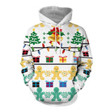 Adult 3D Printed Hooded Sweatshirt Casual Pullover Hoodie-Fandomsky