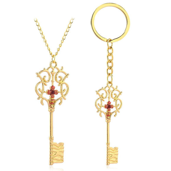 The Nutcracker and The Four Realms Necklace Key Necklaces