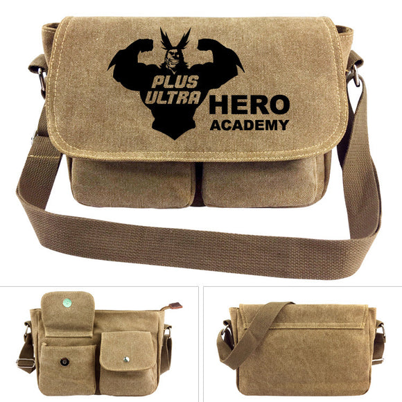 Anime Boku No Hero Academia Shoulder Bag Handbag Messenger School Bag-Fandomsky