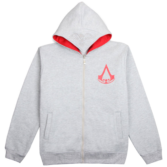 Assassin's Creed Hoodie Sweatshirt Chadal Hombre Cosplay Costumes Cool Zipper Hoodies Men-Fandomsky