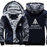 Assassin's Creed Odyssey Men Casual Zip -up Hoodie-Fandomsky