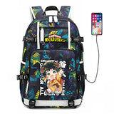 Boku No Hero Academia Midoriya Izuku School Bag Backpack-Fandomsky