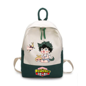 Boku No Hero My Hero Academia Causual School Bag Backpack-Fandomsky