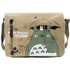 Anime TOTORO Shoulder Bag Handbag Messenger School Bag-Fandomsky
