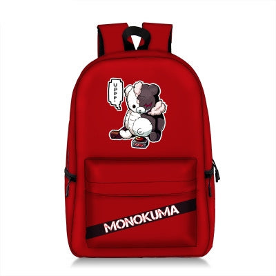 DANGANRONPA Mono Kuma Backpack Multiple Colors-Fandomsky