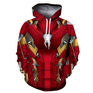 Men's The Avengers Endgame Black Panther 3D Printed Hoodie Pull Over-Fandomsky