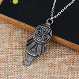 Doctor Who New Series Tardis Key Pendant Logo Chain Necklace-Fandomsky
