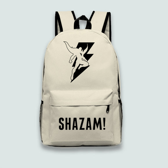 Shazam Logo Backpack Bookbag Cool School Bag For Teen,Boys&Girls 4 Colors-Fandomsky