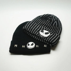 Nightmare Before Christmas Woollen Hat 2 Types-Fandomsky