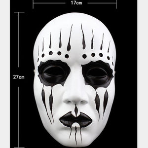Slipknot Band Joey Jordison Resin Mask Halloween Party Masquerade Cosplay Props-Fandomsky