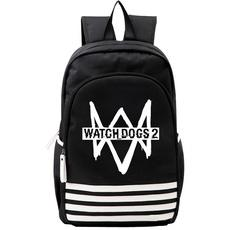 Watch Dogs Casual Oxford Backpack-Fandomsky