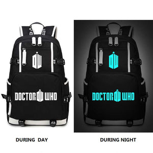 Doctor Who Backpack Night Luminescence 2 Styles-Fandomsky