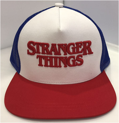 Stranger Things Logo Casual Cap Hat-Fandomsky
