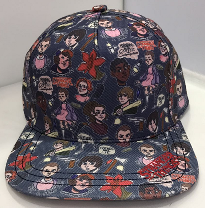 3D Print Stranger Things Casual Cap Hat-Fandomsky