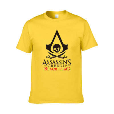 Unisex 3D Printed Video Game Assassin's Creed T-shirt-Fandomsky