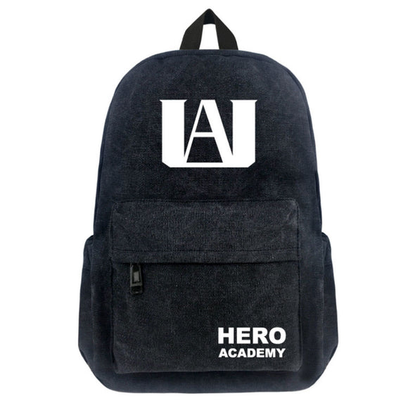 My Hero Academia Canvas Bag Student Backpack