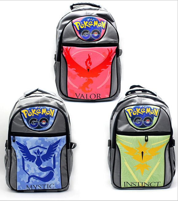 POKEMON GO Backpack Water Resistant-Fandomsky