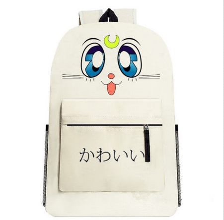 Anime Sailor moon Usagi Luna Katze Tasche Rucksack Bag Backpack