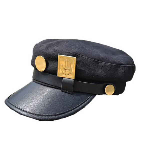 JoJo Hat Cosplay Real Type and Taro Kujojo Bizarre Adventure Jotaro Kujo of JoJo Wind hat-Fandomsky