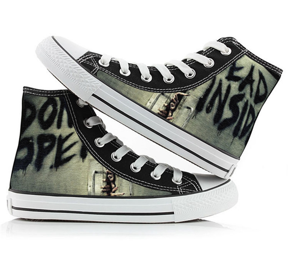The Walking Dead Shoes Canvas Shoes Sneakers-Fandomsky