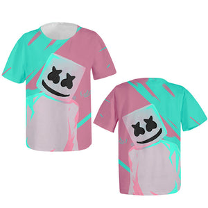 Keeping It 'Mello Youth T-Shirt Marshmello DJ Smiley Face-Fandomsky