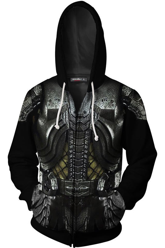 The Predators 3D Printied Zip-up Hoodie-Fandomsky
