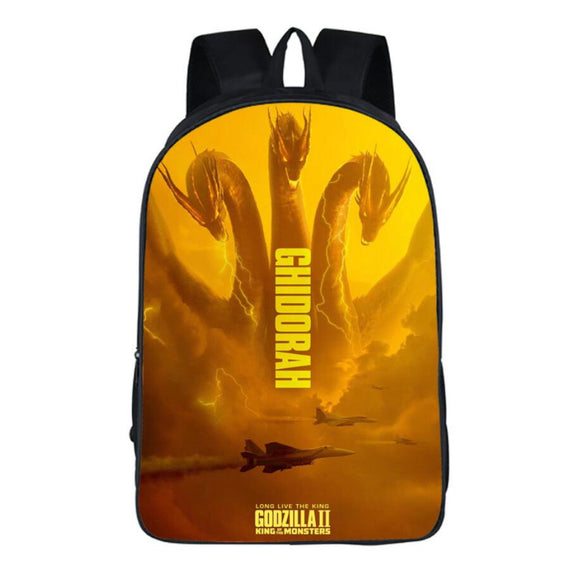 Godzilla Backpack Lightweight Backpacks Fans for Travel, Outdoor , School