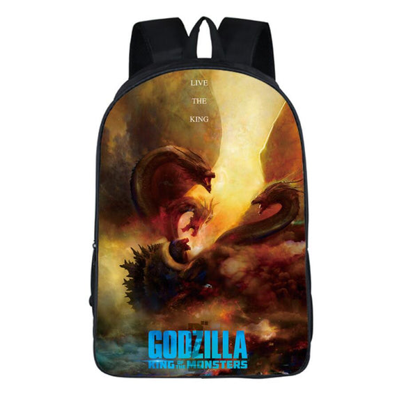 Fans Godzilla Backpack Lightweight Backpacks for Travel, Outdoor , School