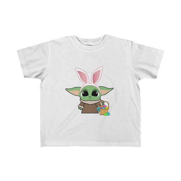 Kids Easter Baby Yoda Shirt Cute Matching Family Vacation Tee Easter Eggs Easter Bunny Casual Street Shirts