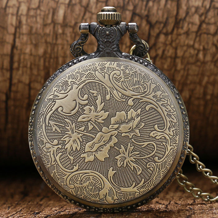 Navy Vintage Bronze Memorial Pocket Watch