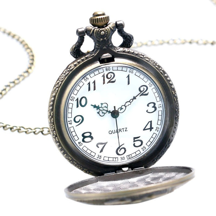 Vintage Bronze Veterans Pocket Watch