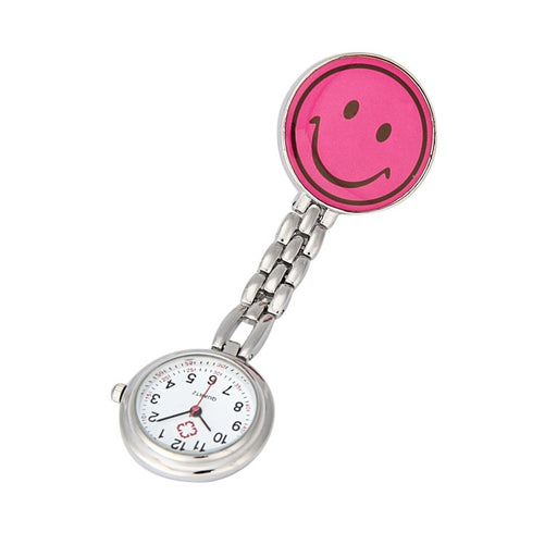 Nurse Pocket watch Lovely Heart Smile Face With Medical Nurses Fashion Quartz Watches
