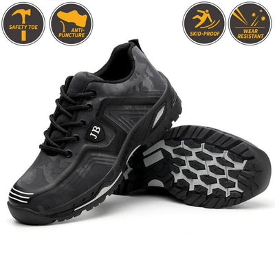 Outdoor Men's Industrial & Construction Steel Toe Cap Safety Shoes
