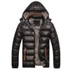 Winter Jackets Casual Parkas Men Coats Thick Thermal Shiny Coats Slim Fit