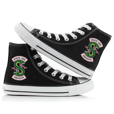 RIVERDALE SOUTHSIDE SERPENTS CANVAS SHOES