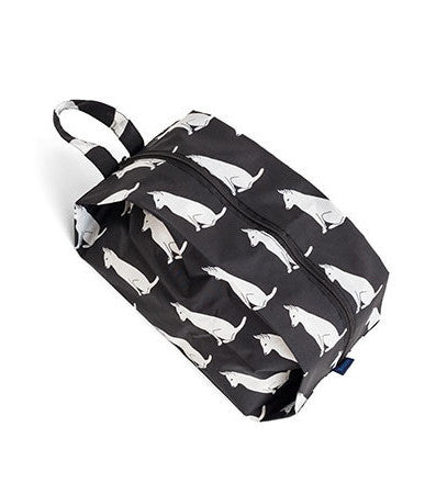 3D Zip Medium Nylon Bag - Dog
