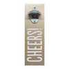 Wall Mount Bottle Opener - Cheers
