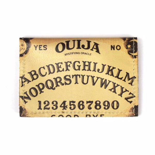 Leather Wallet /Card Case - Ouija