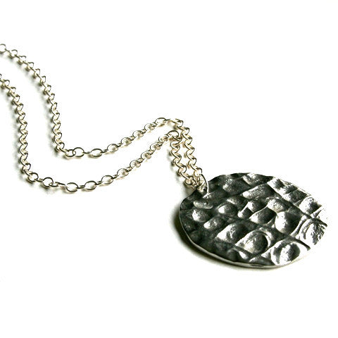 Pewter Alligator Pendant with Bonus Large Silver Chain