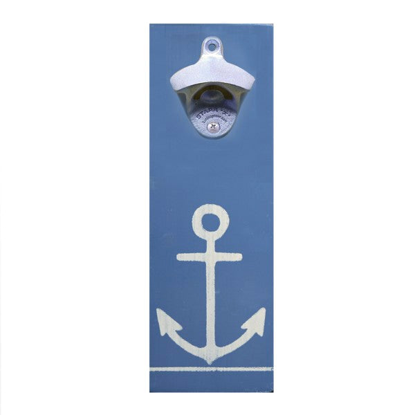 Wall Mount Bottle Opener - Anchor