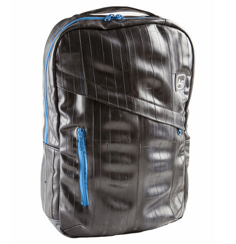 Recycled Bike Tube Backpack - The Brooklyn