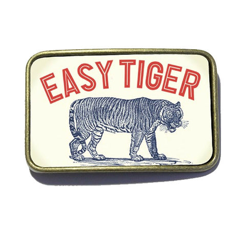 Belt Buckle - Easy Tiger